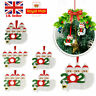 Christmas Tree Hanging Ornament 2020 Quarantine Family Xmas Lockdown Decoration