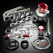 B20/B23/B230 T04E STAGE II TURBO CHARGER MANIFOLD UPGRADE KIT FOR 89+ VOLVO 16V