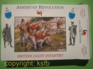 1:32 Figuren Call to Arms #32 US Unabhängigkeitskrieg brit. leichte Infanterie