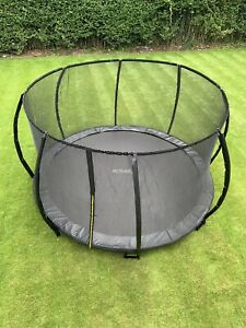 8-10-12FT in ground trampoline by Active-fun now with safety enclosure uk stock