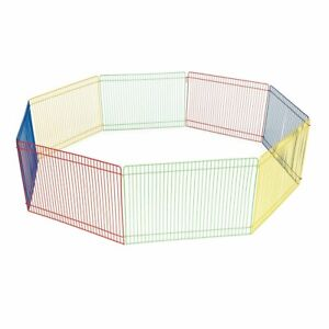 Animal Exercise Cage Hutch Dog Pet Play Pen Guinea Pig Hamster Playpen Fence