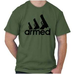 Cool Pro Gun 2nd Amendment Bear Arms Gifts Womens or Mens Crewneck T Shirt Tee