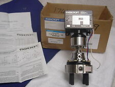ASHCROFT B400 series PRESSURE SWITCH W/203 SERIES DIAPHRAM 60 PSI B461S
