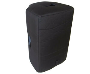 "Alto Black 12 Powered Speaker Cover, Black, 1/2"" Padding, Tuki Cover (alto007p)"