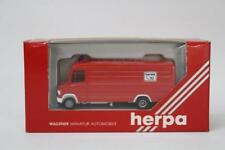 Herpa 4069 Mercedes Van Feuerwehr Fire Vehicle 1/87 Scale HO Gauge Plastic W10