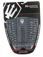 Far King Panther Red 3 Piece Dynamic Diamond Traction Surfboard Tail Pad Surfing