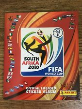 PANINI FIFA WORLD CUP SOUTH AFRICA 2010 STICKER ALBUM INCOMPLETE GOOD CONDITION