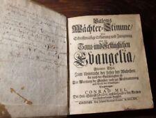 Livres anciens et de collection en cuir xviiième en allemand