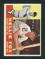 1960 Topps #100 Nellie Fox EX+ White Sox 123068