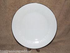 Noritake Reina 4 Salad Plates Platinum Trim White Floral - buy up to 3 sets
