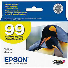 Genuine Epson T0994 Yellow 99 Ink Cartridges For 700 710 725 730 800 810 835 837
