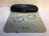 Brand New Paul Smith Eyeglasses/ Sunglasses Small Case with Glasses Pouch