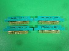 Viking Slot Edge Connector -- 3VH18/1JN5 -- (Lot of 4) New