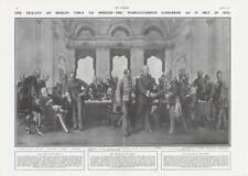 More details for 1908 fine art treaty berlin world famous congress 1878 anton von werner (dp08)