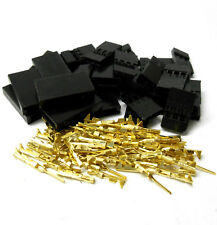 C1003GMF10 Compatible Futaba Male Female Servo Connector Plug Full Gold x10