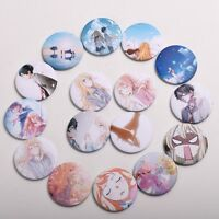 16pcs Anime Your Lie In April Kaori Miyazono Badge Pins Arima Kousei Buttons