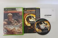 XBox Mortal Kombat Deception Kollectors Edition Tested Holograph Baraka