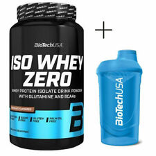 BIOTECH USA ISO WHEY ZERO 908gr proteine isolate COOKIES + SHAKER OMAGGIO