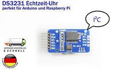 Ds3231 at24c32 i2c Real Time Clock con sensor de temperatura para Arduino Raspberry Pi