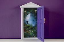 Opening Purple Fairy Door wooden miniature tooth fairy great gift idea magical