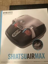 HoMedics Shiatsu Foot Massager with Heat, Air Max FMS-305