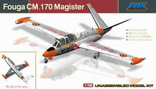 AMK Models AvantGarde 1/48 Fouga CM.170 Magister French Two-seat Trainer #88004