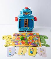 Vintage 1978 Playskool Alphie The Electric Robot Toy Game Ages 3-8