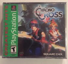 "PS1 - Chrono Cross ~ Brand New ""Y"" Fold Seal ~ Greatest Hits ~ Square RPG"