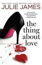 Thing About Love, The, James, Julie, Very Good Book