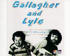 CD GALLAGHER AND LYLEbreakawayGERMAN EX+ (B0003)