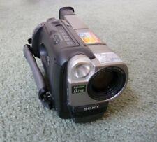 SONY TRV37 8mm Hi-8 Video Camera Camcorder, 200x Digital Zoom, w/ accessories