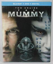 The Mummy 2017 Blu Ray DVD Digital W/ Slipcover Sam's Club Tom Cruise