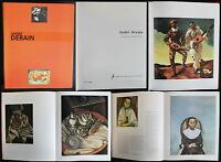 André Derain Le peintre du trouble moderne 1994 Katalog Musée d'Art Paris xz