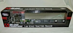 """DCP Diecast Promotions Jerry Linander Kenworth W900 Aerocab 53"""" Trailer #33722"""