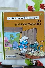 BD les schtroumpfs n°12 les schtroumpfosaures TBE EO 1995 peyo