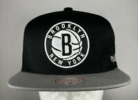 Mitchell and Ness NBA Brooklyn Nets Two-Tone Snapback Hat, Cap, New