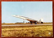 Concorde. Avion Supersonic. Postcard