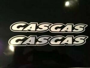 GAS GAS stickers/decals , trial bike, motorbike decals, stickers x 2 in set