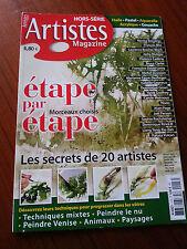 ARTISTE Magazine   HORS SERIE   Etape par Etape