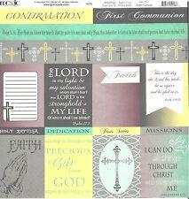 Moxxie - Faith Cutouts Scrapbooking Paper - 1511