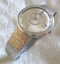 Vintage 1960's Hamilton Electronic Wrist Watch KestenMade Stainless Mesh Band