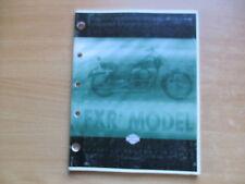 Teile Katalog parts catalog Harley-Davidson FXR3 1999