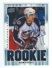 Adam Pineault Signed 2008/09 MVP Rookie Card #361