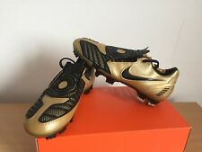 Nike Total 90 Laser II FG Gold 318793-701 EUR 42,5 UK 8 US 9 Neu New Vapor R9