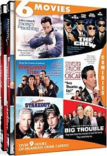 Hilarious Crime Capers: 6 Movies (DVD, 2013, 4-Disc Set)