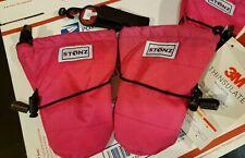 NEW Stonz Infant Mittz PINK BLACK Toddler Warm Gloves Mittens Size: 12-24 Months