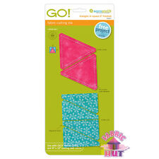 """Accuquilt GO! Fabric Cutting Die 3"""" Triangles in Square Quilting Sewing 55027"""