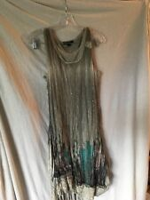 Cativa Sz S Lace/Net/Rhinestone dress