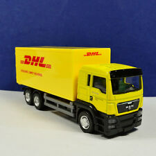 1:64 Scale Diecast Container Truck Yellow Model For Express DHL Collection Gift