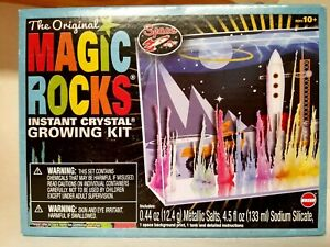The Original Magic Rocks Instant Crystal Growing Kit - Space New Sealed
